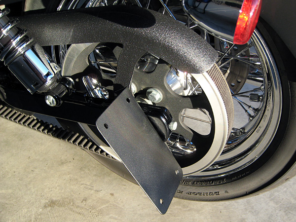 Anyone Have This Side Mount Plate Harley Davidson Forums